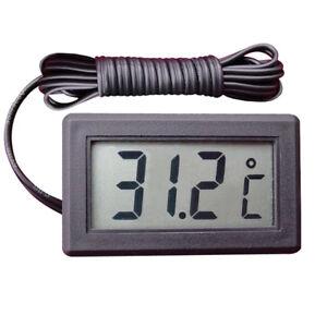 Termometro acquario lcd sonda digitale con freezer misura for Termometro per acquario tartarughe