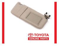 2007-2011 Toyota Camry Tan Sun Visor Right Passenger With Sunroof
