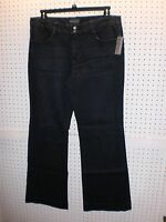 Covington Misses Size 14 Denim Fit 'n' Flare Pants With Stretch Free Shpg Nwta