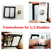 Sockets-Light-Switch-Wall-Switch-AC-Switch-Glass-Frame-lux4099-White thumbnail 24
