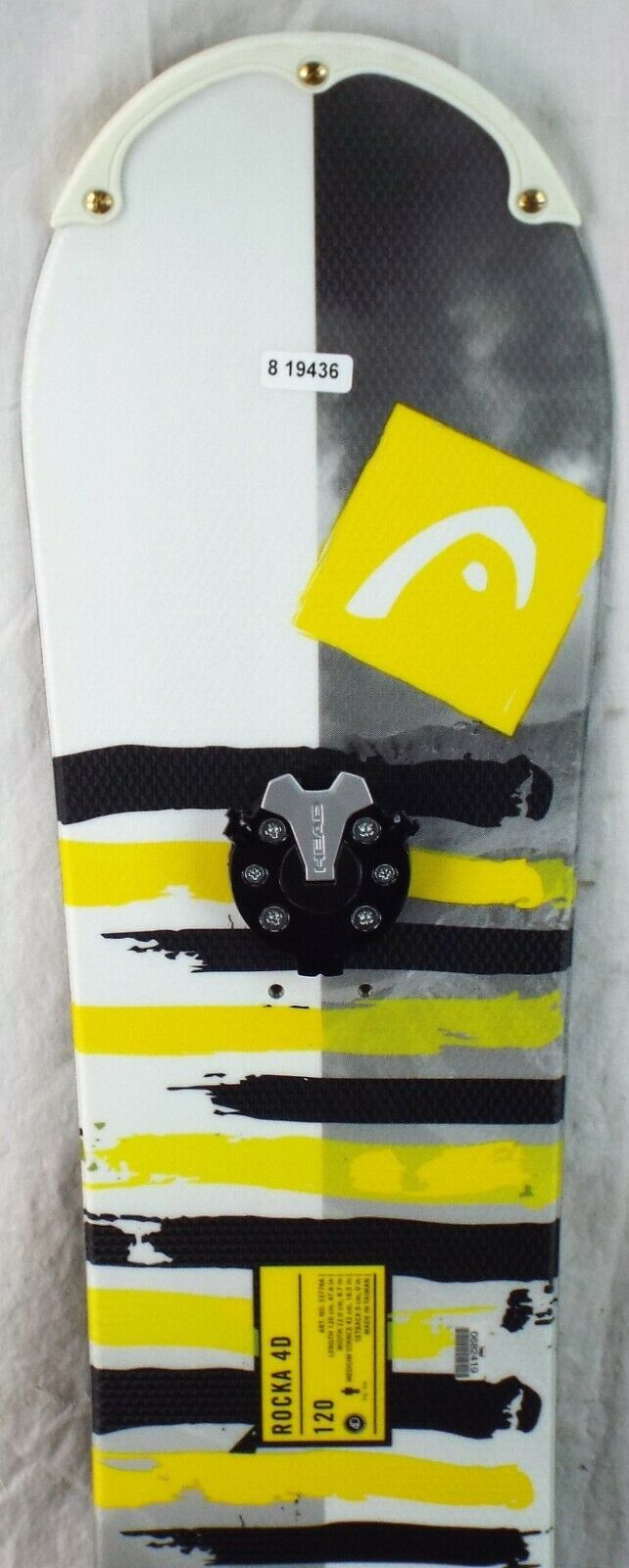 18-19 Head Rocka 4D Gebruikte Junior Demo Snowboard Grootte 120cm \\35;H819436