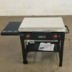"""Nexgrill Tailgating Grill NOT INCLUDED 2-Burner 29"""" diamond plate hard cover"""