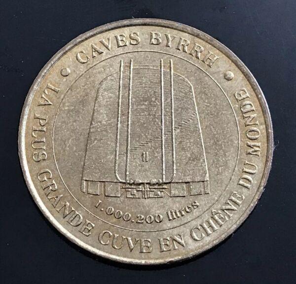 100% Vrai Monnaie De Paris @ Medaille Epuisee @ Les Caves Byrrh @ 2002 Epuise @ Promo !!