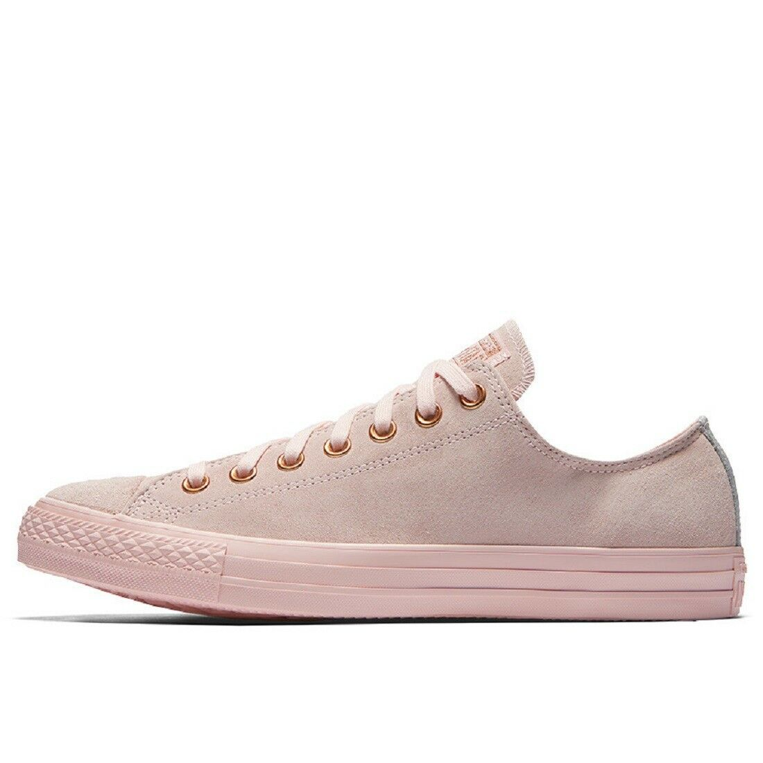 Converse All Star Ox femme suede Baskets Mode rose