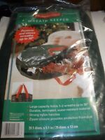 Rubbermaid Wreath Keeper Holds 1-2 Wreaths Up To 30