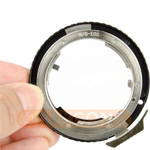 Nikon-G-AF-S-AI-F-Lens-to-Canon-EOS-EF-Mount-Adapter-600D-550D-1100D-60D-7D-5D