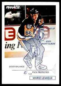 1991-92-Pinnacle-Mario-Lemieux-380