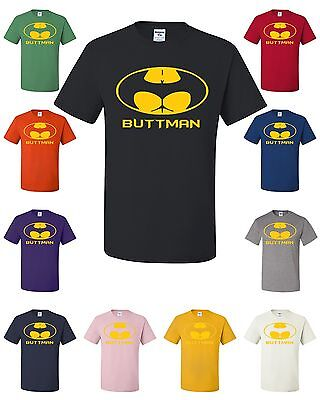 Buttman Funny Parody T-Shirt College Humor Drinking Booty Ass Tee Shirt
