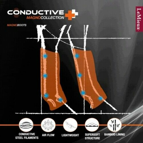 Lemieux Conductive Magno Therapy Boots Pair