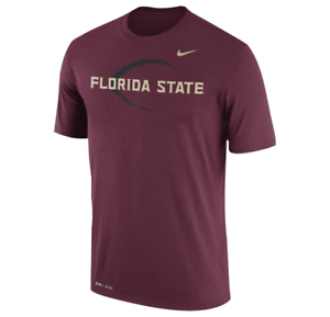 Florida-State-Seminoles-Men-039-s-Nike-Legend-Football-Icon-DRI-FIT-T-Shirt-XL-amp-L