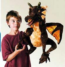 Folkmanis Large Earth Dragon Puppet 2560 NWT RARE