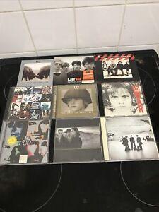 U2 CD's X9