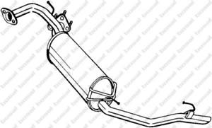 Endschalldämpfer für Abgasanlage BOSAL 282-911