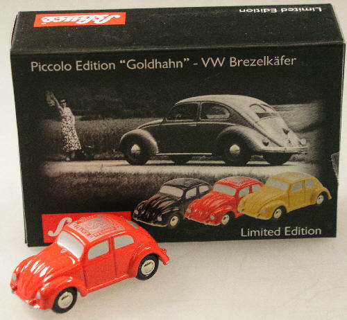 Schuco Sammleredition Goldhahn-Brezel-Käfer Rot