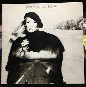 JONI MITCHELL Hejira Album Released 1976 Vinyl/Record Collection US pressed