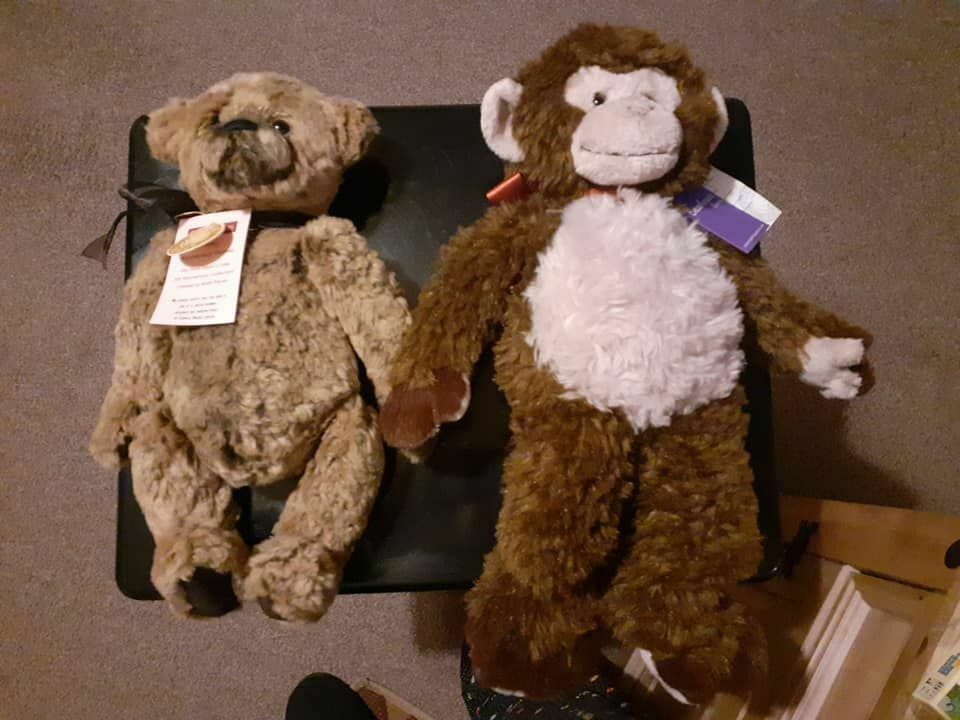 2x charlie bears Anniversary Thomas and flint with tagss