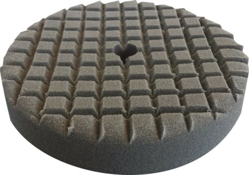 "8/"" Charcoal Final Finishing LAKE COUNTRY Cross Cut Foam Buff Pad 38145"