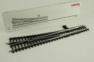 Märklin K-Gleis Weiche rechts r=902,4 mm Arti.-Nr.22716 NEUWARE