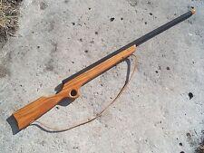 Toy Wooden Sharps Buffalo Rifle Gun Hunting wood  Sling
