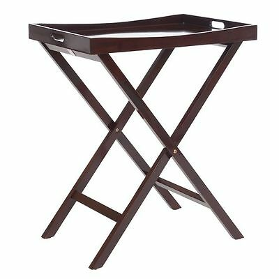 NEW Zanui Connie Chocolate Tray Table