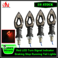 Universal Integrated Running Brake Tail Turn Signal Light Indicator Motorcycle