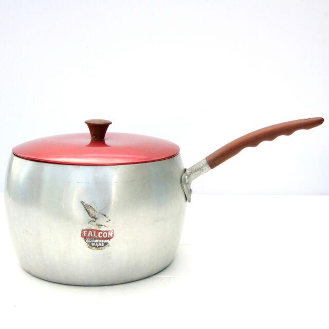 Vintage Retro Falcon Aluminium Ware Pan Saucepan
