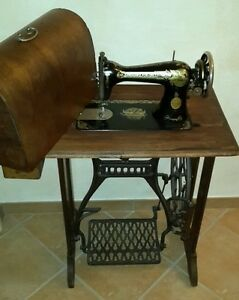 Macchina da cucire singer d 39 epoca vintage ebay for Base macchina da cucire singer