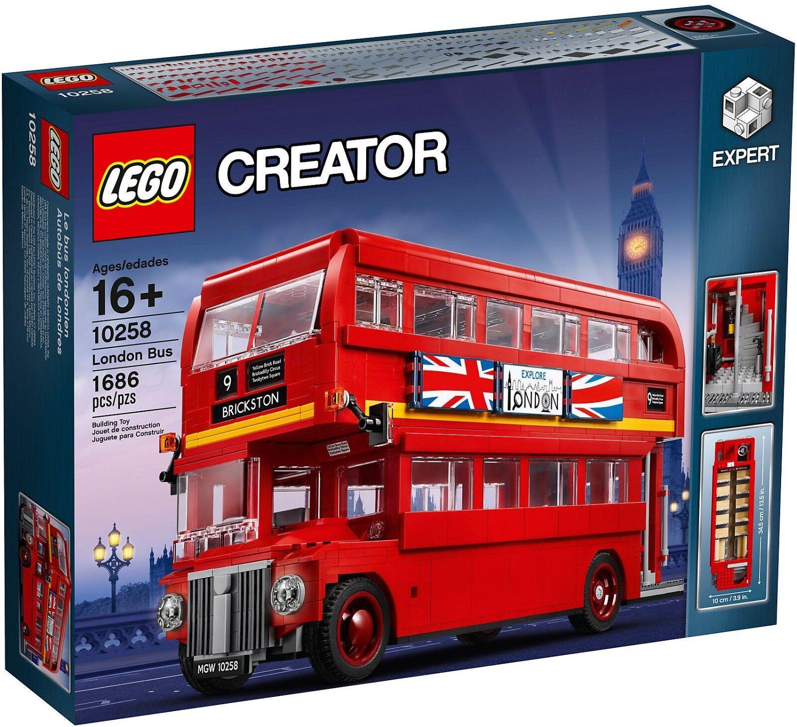 LEGO Creator Expert Collezionisti 10258 - London Bus NUOVO