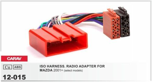 CARAV 11-079-15-6 Fascia Installation dash Kit for MAZDA 2 Demio double DIN