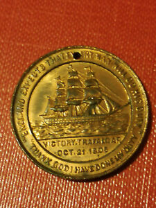 COIN TOKEN BRITISH AND FOREIGN SAILORS SOCIETY ENGLAND EXPECT EVERY MAN WILL DO