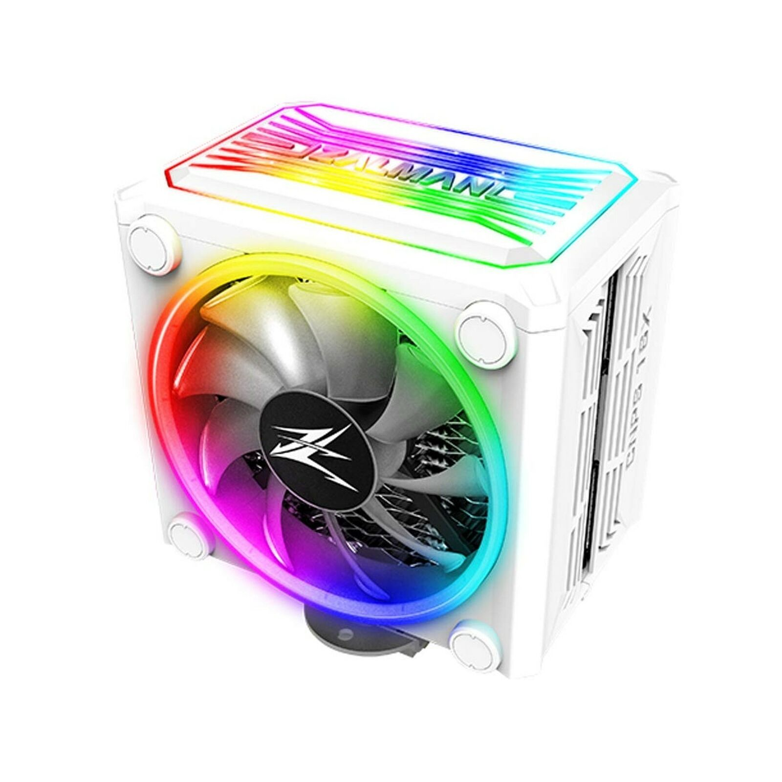 Zalman CNPS 16x, Real aRGB LED CPU Cooler with 4D Patented Corrugated Fin Des...