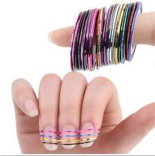 15 X Nail Art Striping Roll Tape Line Transfer Nail Sticker Nail Tip Decoration