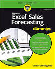 Excel Sales Forecasting for Dummies, 2nd Edition by Mike Alexander, Conrad George Carlberg (Paperback, 2016)