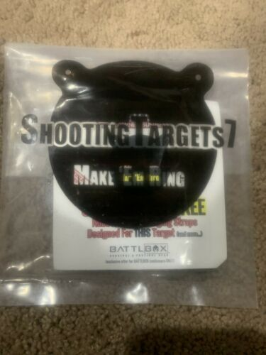 Shooting Targets 7 3 Inch Metal Target With Ears GET IT FAST ~ US SHIPPER