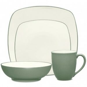 Noritake Colorwave Green Square 32Pc Dinnerware Set, Service for 8 ...