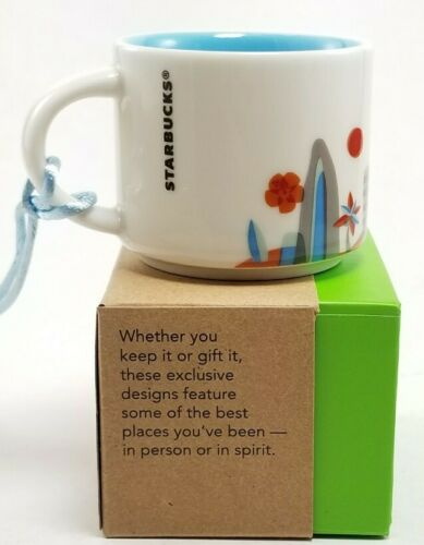 Starbucks HAWAII  You Are Here 2oz Collectible  Ornament NEW