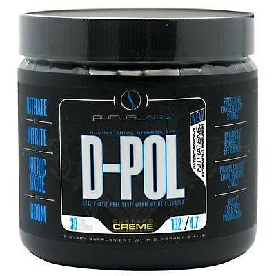 Purus Labs D-POL DPOL Testosterone Booster Powder Custard Creme