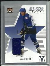 Mario Lemieux 02/03 Be A Player Memorabilia Game Used Jersey #1/1