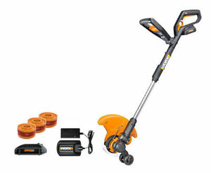 WORX-WG160-4-GT-20V-PowerShare-Cordless-4-0-ah-String-Trimmer-Edger-Mini-Mower