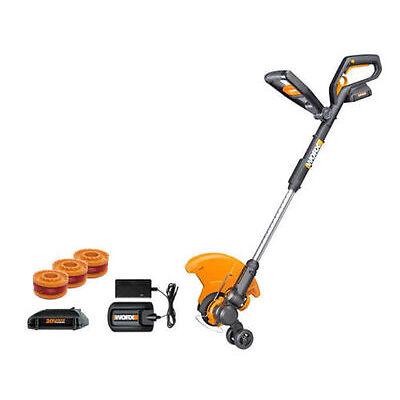 WORX WG160.4 GT 20V PowerShare Cordless 4.0 ah String Trimmer/Edger/Mini Mower