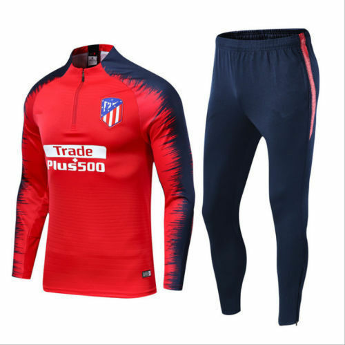 New Adult Mens Football Tracksuit Soccer Sportwear Training Suit Tops /& Bottoms