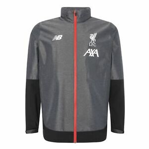 Liverpool-FC-Grey-Mens-Manager-039-s-Rain-Jacket-19-20-LFC-Official