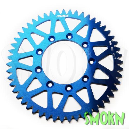 Blue pro Rfx Hinteres Kettenrad Tm De Mx Mxfi 125 144 250 300 450 01-18 52 T