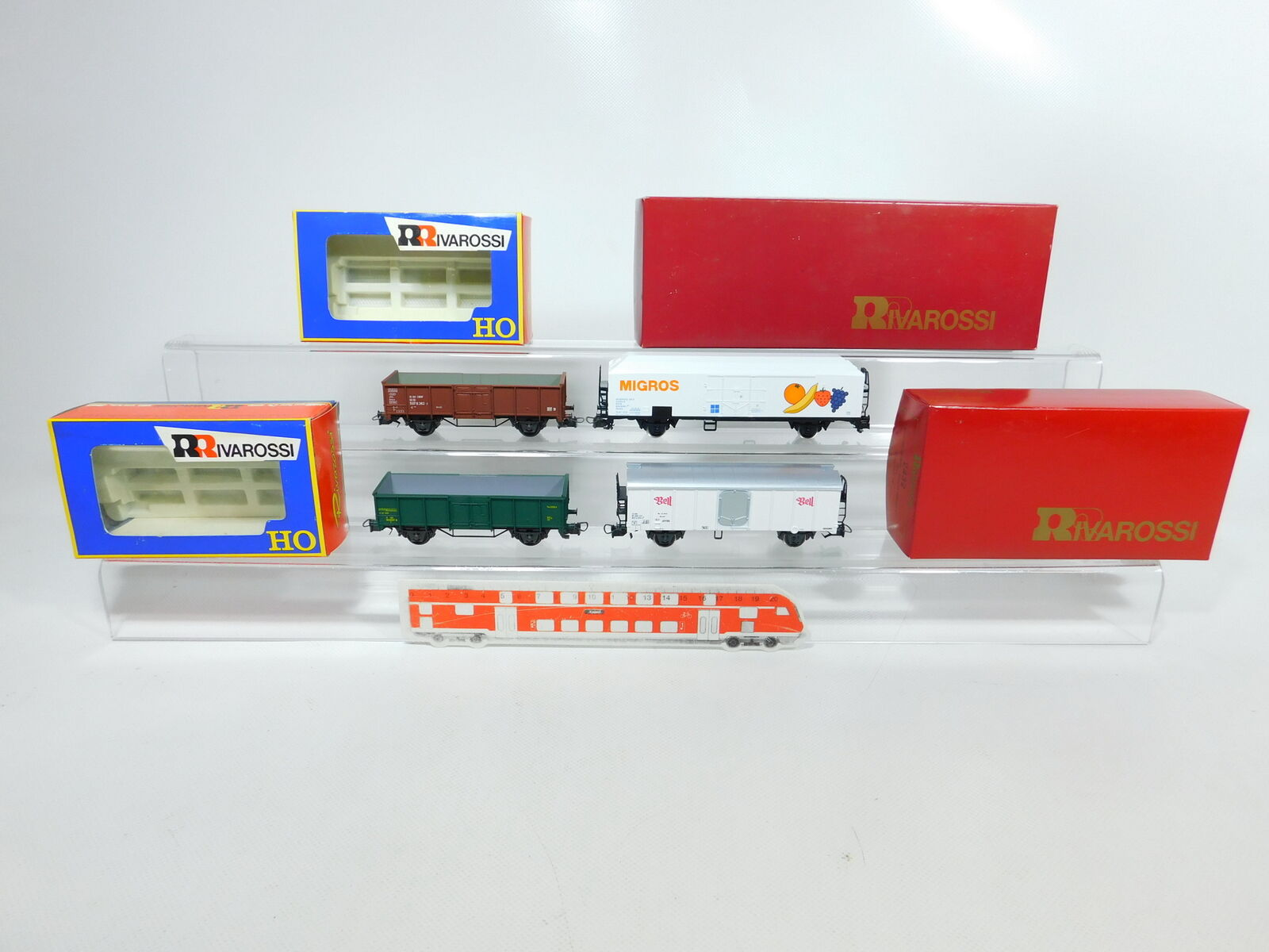 venta mundialmente famosa en línea BV680-1 BV680-1 BV680-1  4x Rivarossi H0   Dc Vagón   69 DB + 2432 SBB + 66 Sncb + 2106 FS,Nuevo  envío rápido en todo el mundo