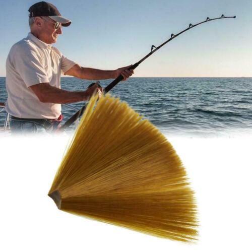 Braun Nylon Verjüngt Schwimmdock Fliegen Binden Schwanz Tails Binden Fliege U1A6