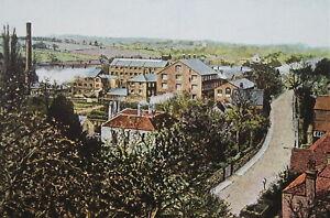 ENGLAND-Hemel-Hempstead-Historic-Town-1904-COLOR-Art-Nouveu-Era-Print