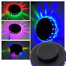 UFO LED Stage Crystal Light Lamp RGB DJ/Disco Party Bar *Voice-activated
