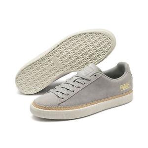 PUMA-Men-039-s-Suede-Trim-DLX-Sneakers