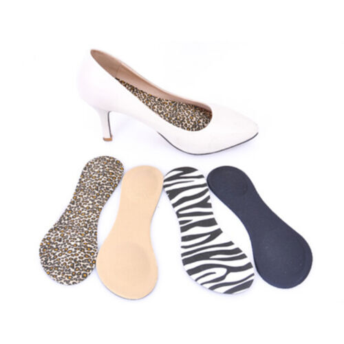 Heel Foot Cushion//Pad 3//4 Insole Shoe pad For Women Orthotic Arch Support $T
