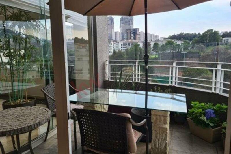 Penthouse en renta, Caliterra Lomas Country, 488 m2, acceso directo a casa club y campo...